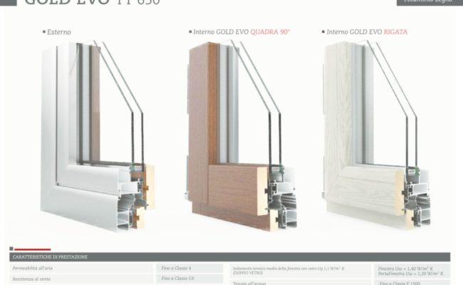 legno – alluminio 1