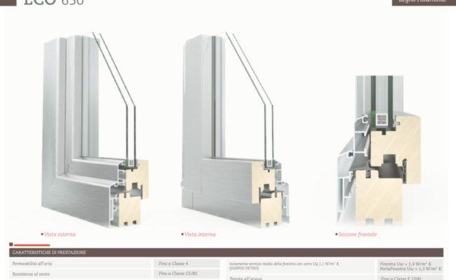 legno – alluminio